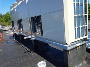 Flashable Roof Rails For Vrf Condensers 5 Novia